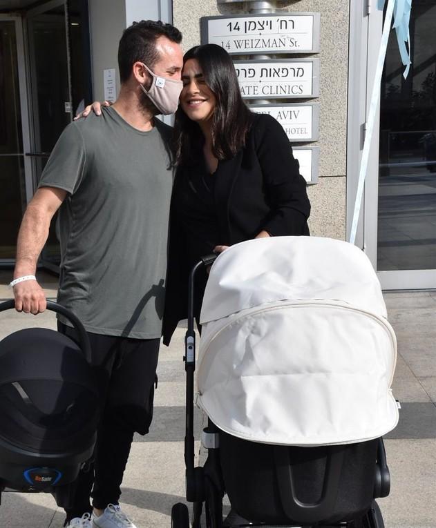 נופר מור השתחררה מבית החולים, נובמבר 2020
