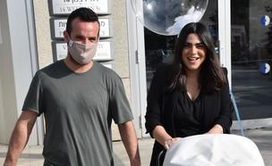 נופר מור השתחררה מבית החולים, נובמבר 2020 (צילום: צינו פפראצי, יחסי ציבור)