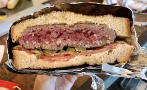 המבורגר אייל שני  (צילום: ריטה גולדשטיין, אוכל טוב)
