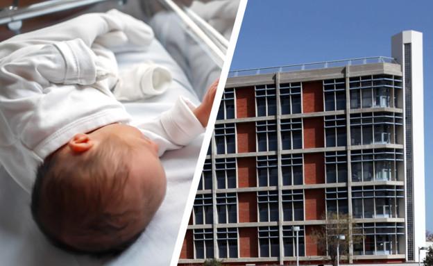 נטשה תינוק בפתח בית (צילום: יוטיוב\WKMG News 6 ClickOrlando)
