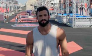 """מאמן """"נינג'ה ישראל"""" לוהק ל""""להיות איתה"""" (צילום: ערב טוב עם גיא פינס, קשת 12)"""