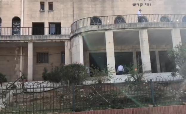 בית הספר בחילוני סגור, החרדי פתוח (צילום: N12)
