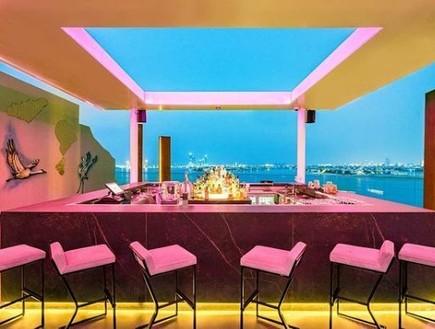 מסעדה בדובאי (צילום: אינסטגרם)