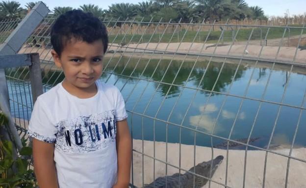 הילד בן ה4 שננשך על ידי תנין (צילום: באדיבות המשפחה)