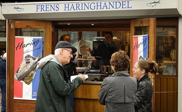 אוכל רחוב באמסטרדם (צילום: ענבל טור שלום, אוכל טוב)
