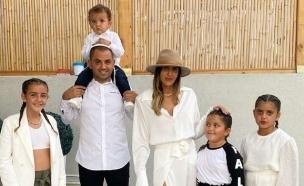 עינב בובליל ומשפחתה. נובמבר 2020 (צילום: אינסטגרם)