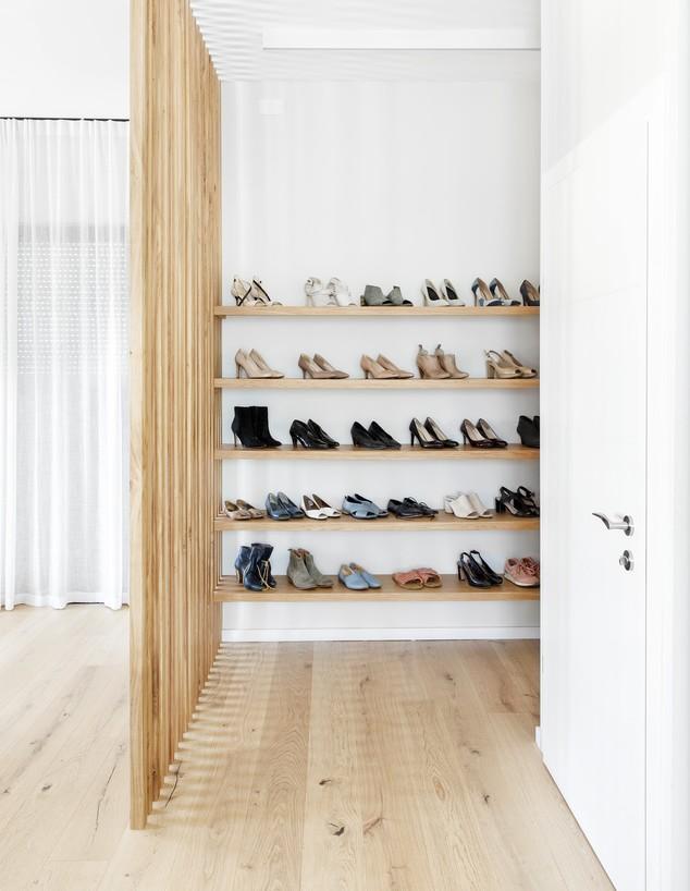 אחסון נעליים, עיצוב רוני שני פלדשטיין, ג (צילום: איתי בנית)