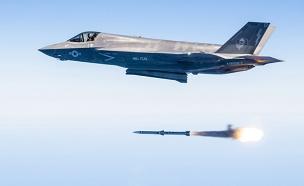 טיל נורה מחמקן (צילום: Darrin Russel / USAF)