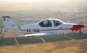 המטוס הקל (צילום: אתר חיל האוויר, ארכיון)