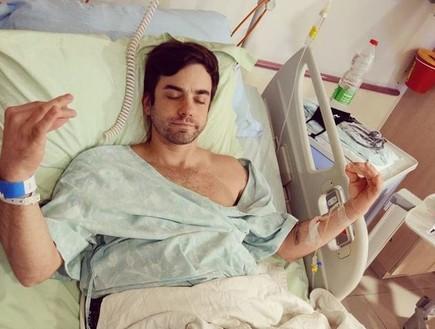 גיא מנטש עבר ניתוח לשחזור הרצועה