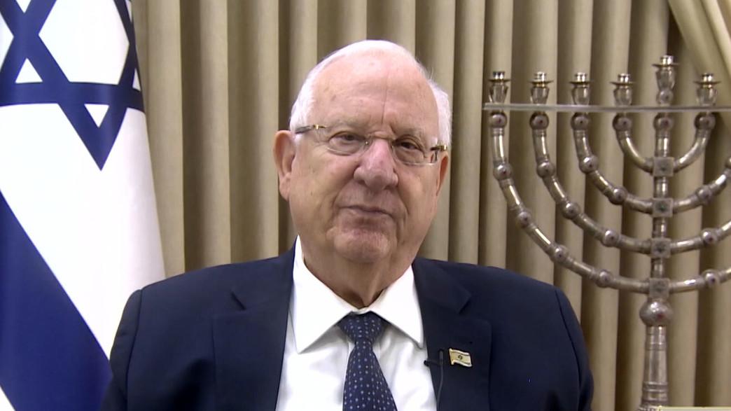 """נשיא המדינה מברך את עם ישראל לשנה החדשה (צילום: מתוך """"אופירה וברקוביץ"""", קשת 12)"""