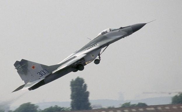 מטוס קרב רוסי (צילום: Alain Nogues/Sygma/Getty Images)
