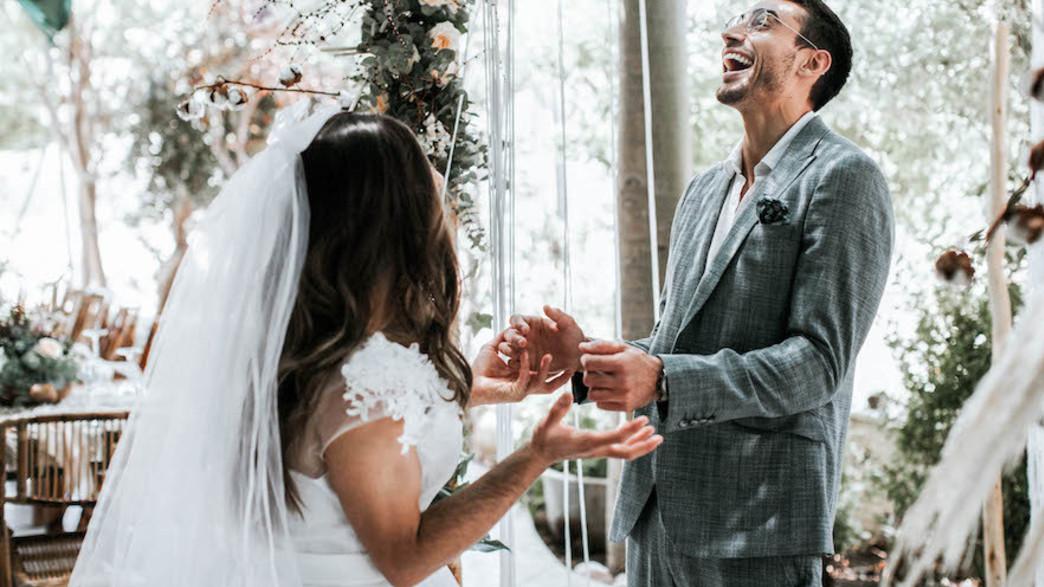 חתונה מעיין ונועם (צילום: שגיא הורוביץ)