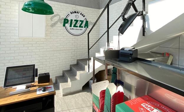 """פאפא ג'ונס- פיצה (צילום: יח""""צ)"""