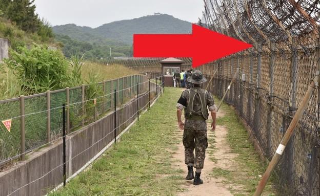 גבול דרום קוריאה (צילום: Stanislav Varivoda, shutterstock)