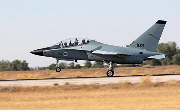 מטוס לביא M-346 (צילום: ארכיון, אתר חיל האוויר)