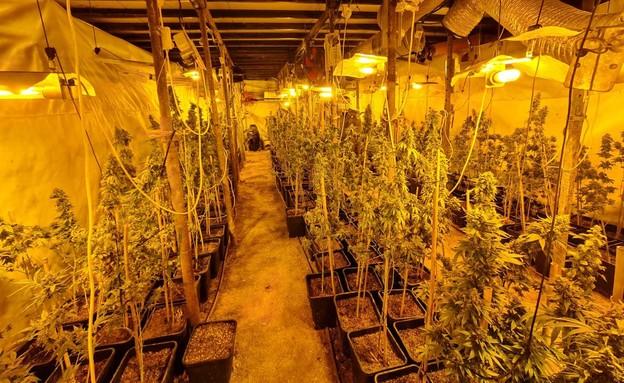 מנהרות הסמים בדרום (צילום: דוברות משטרת ישראל)