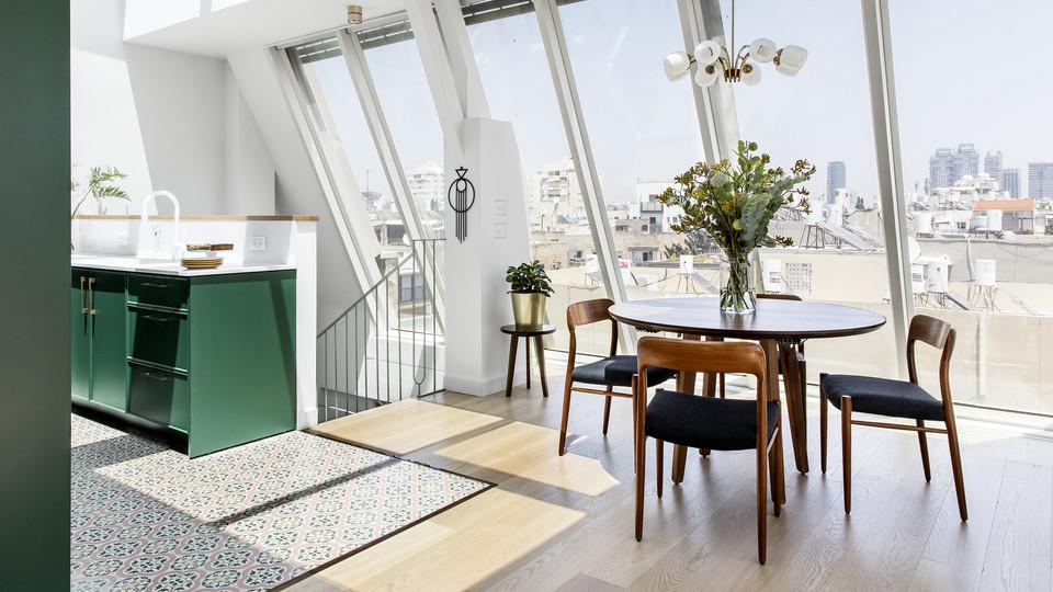 דירה בתל אביב, עיצוב נעה בר וטל מידן - 10 (צילום: איתי בנית)