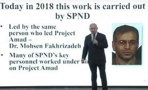 ראש תוכנית הגרעין האירנית שחוסל