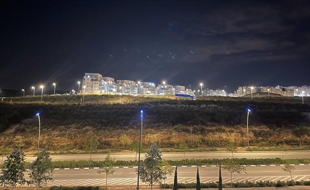 אייפון 12 פרו מקס, מצב לילה (צילום: רועי שפריר, NEXTER)