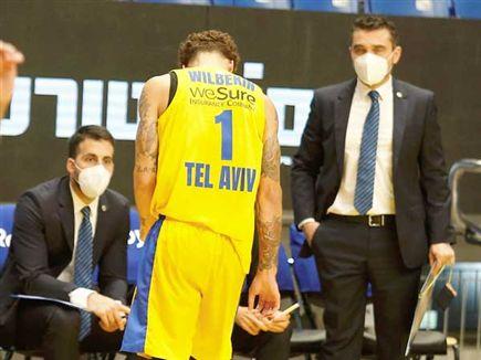 ווילבקין אחרי עוד הפסד במשחק צמוד (אלן שיבר) (צילום: ספורט 5)