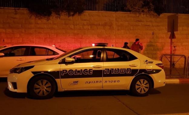 חשד לאירוע אלימות במשפחה בירושלים