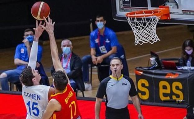 נבחרת ישראל בכדורסל (צילום: fiba)