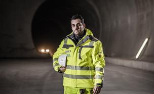 הישראלי שעובד בפרויקט המנהרות הגדול בעולם (צילום: Hannes Niederkofler, יחסי ציבור)