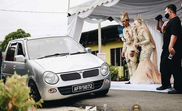 חתונות קורונה (צילום: Farreed Sahar)