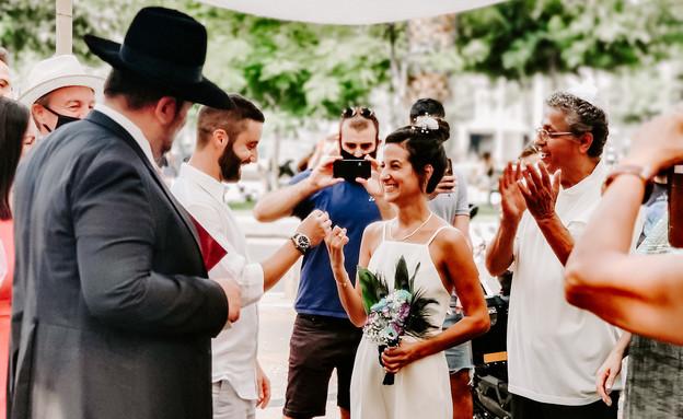 חתונות קורונה (צילום: אבי זוארץ)
