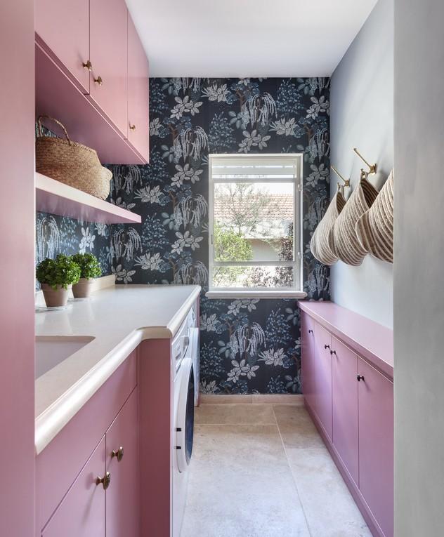 בית בשוהם, עיצוב דניאל זריהן בייצ'ר, ג, חדר כביסה