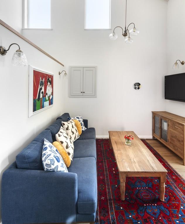 בית בשוהם, עיצוב דניאל זריהן בייצ'ר, ג, חדר משפחה