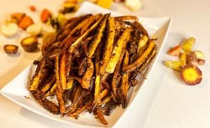 צ'יפס גזר אפוי (צילום: הדר קריגר, אוכל טוב)