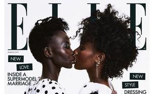 אוונג אדה-צ'ול ואלכסוס על שער מגזין ELLE (צילום: Meinke Klein, instagram)
