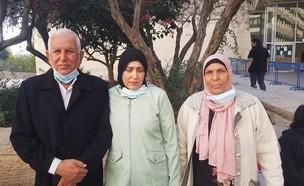 סמאהר ח'טיב הגיעה להעיד נגד הגרוש שלה (צילום: רשאד אל עומרי)