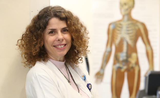 יעל קרבס (צילום: המרכז הרפואי הלל יפה)