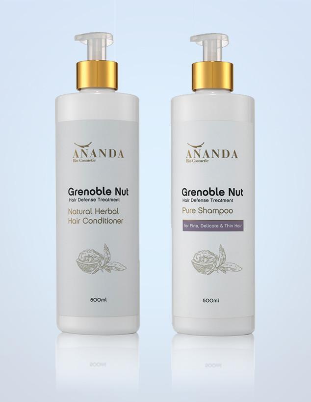סדרת מוצרי טיפוח טבעיים לשיער של אננדה קוסמטיקה  (צילום: קיט גלסמן)