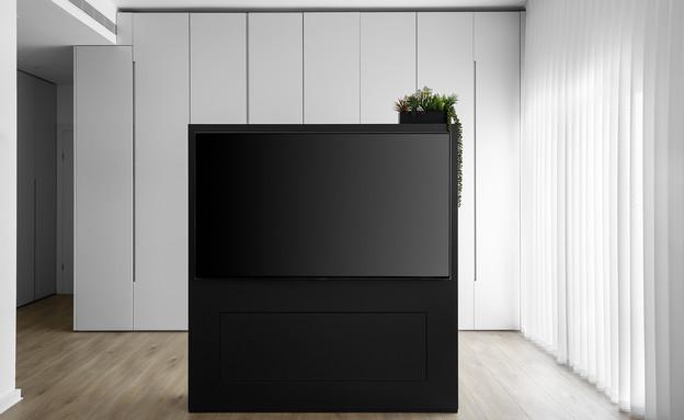 טלוויזיה בחדר השינה, עיצוב טל מאיו הלוי - 2 (צילום: אורן עמוס)