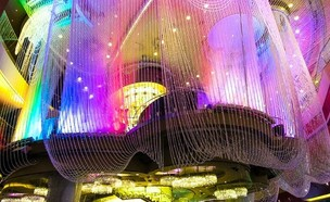 שנדליר (צילום: צילום מעמוד האינסטגרם The Cosmopolitan of Las Vegas)