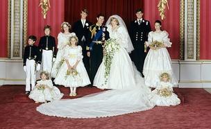 החתונה של צ'ארלס ודיאנה (צילום: Thestorybookofdreamsandbeauty, Facebook)