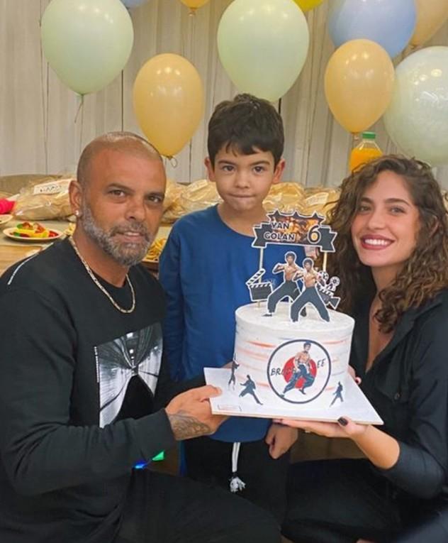 אייל ודניאל חוגגים ליאן יום הולדת
