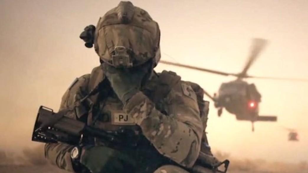צבא זר (צילום: AFSpecOpsCmd@Twitter)