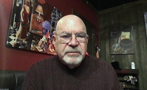 ויקטור אוסטרובסקי, עובד המוסד לשעבר (צילום: החדשות 12)