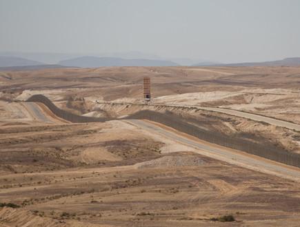 גבול מצרים. ארכיון (צילום: יונתן סינדל / פלאש 90)