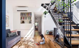 בית בתל אביב, עיצוב לבן אדריכלים - 4 (צילום: שי אפשטיין)