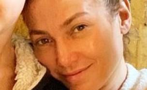 ג'ניפר לופז בלי איפור (צילום: instagram)