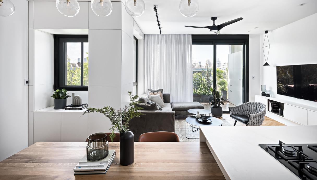 דירה בתל אביב, עיצוב הגר בר-גיל - 1