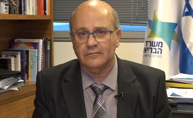 פרופ' חזי לוי (צילום: החדשות 12)