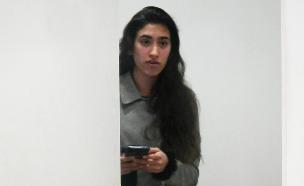 כרמל מעודה בבית המשפט בדצמבר האחרון (צילום: פלאש 90)