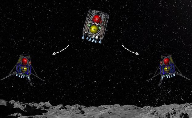 המשימה הבאה של בראשית 2 (צילום: spaceIL)